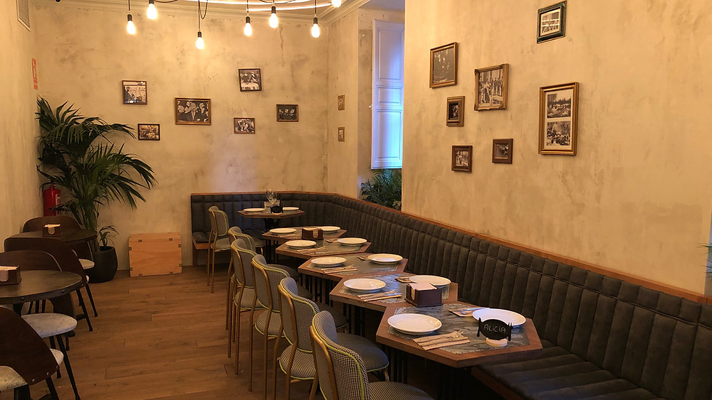 Teje Maneje, restaurante recomendado en www.madridmeenamora.com