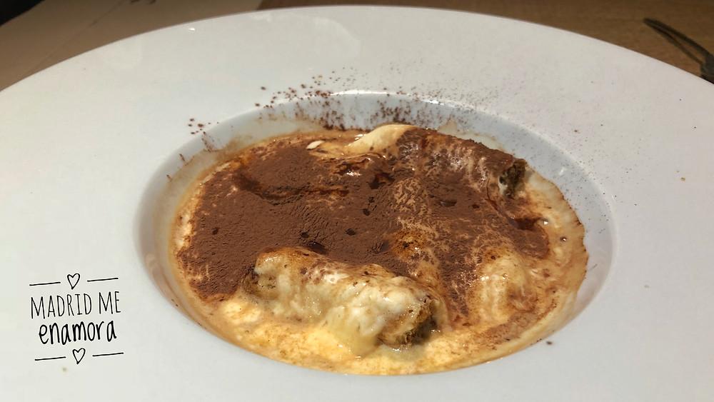Piu Trentanove, restaurante recomendado en Madrid por www.madridmeenamora.com