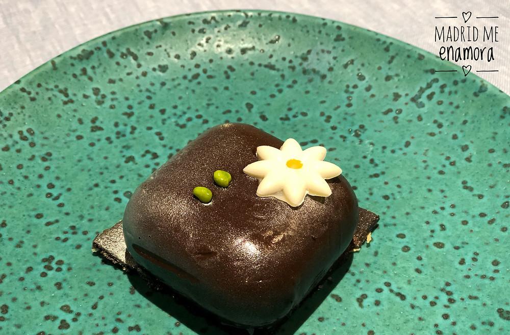 Chocolate crujiente de Coquetto.