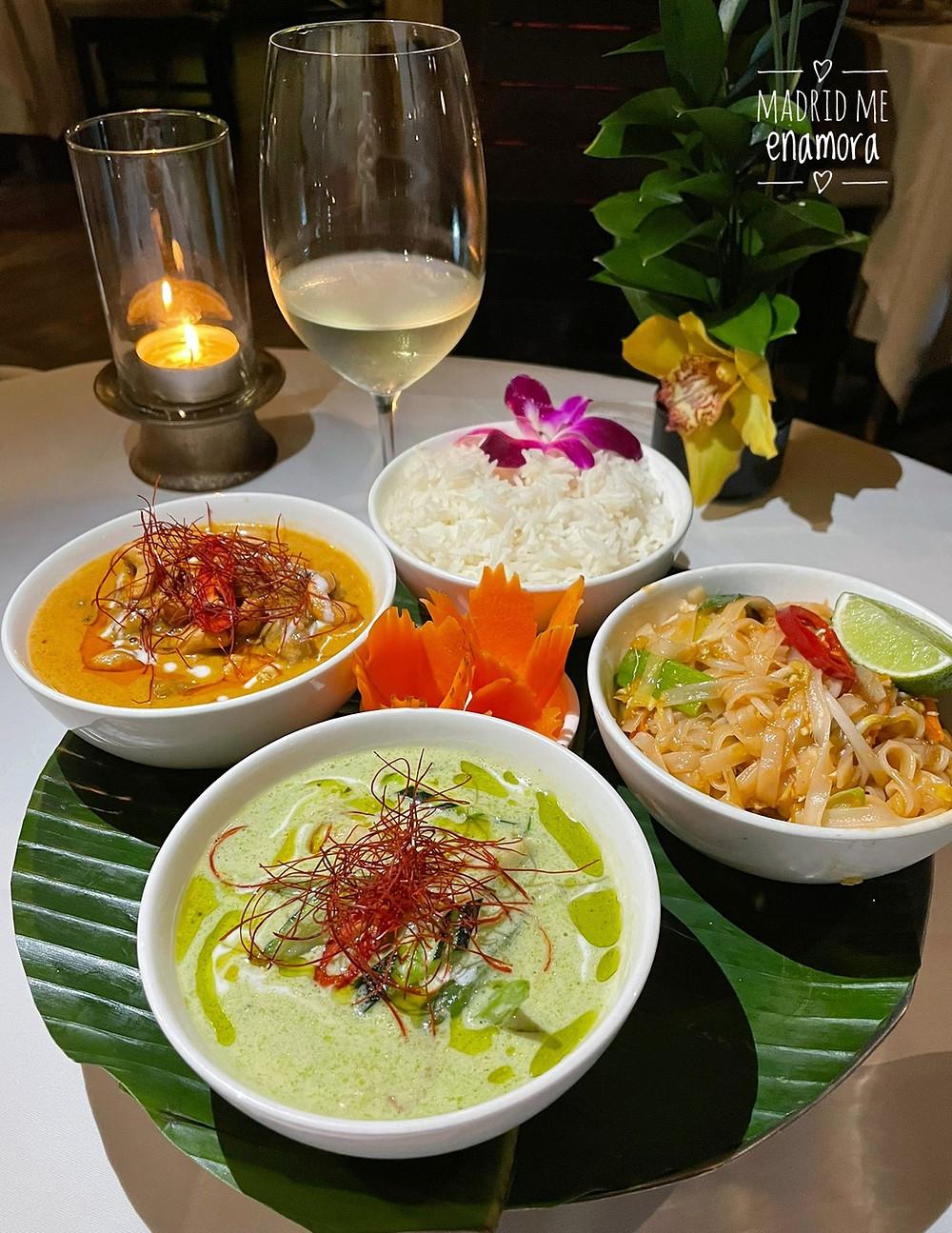 Sabores, matices y texturas en cada uno de los platos de Thai Arturo Soria.