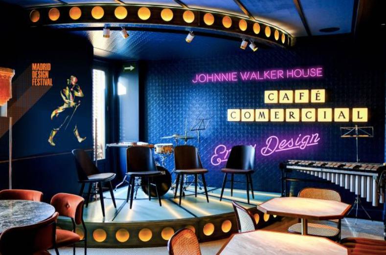 Café Comercial sede del Madrid Design Festival, plan recomendado por www.madridmeenamora.com