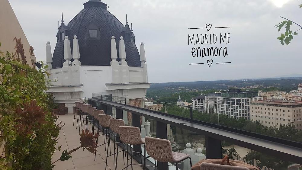 Terraza recomendada en Madrid por Madrid me enamora
