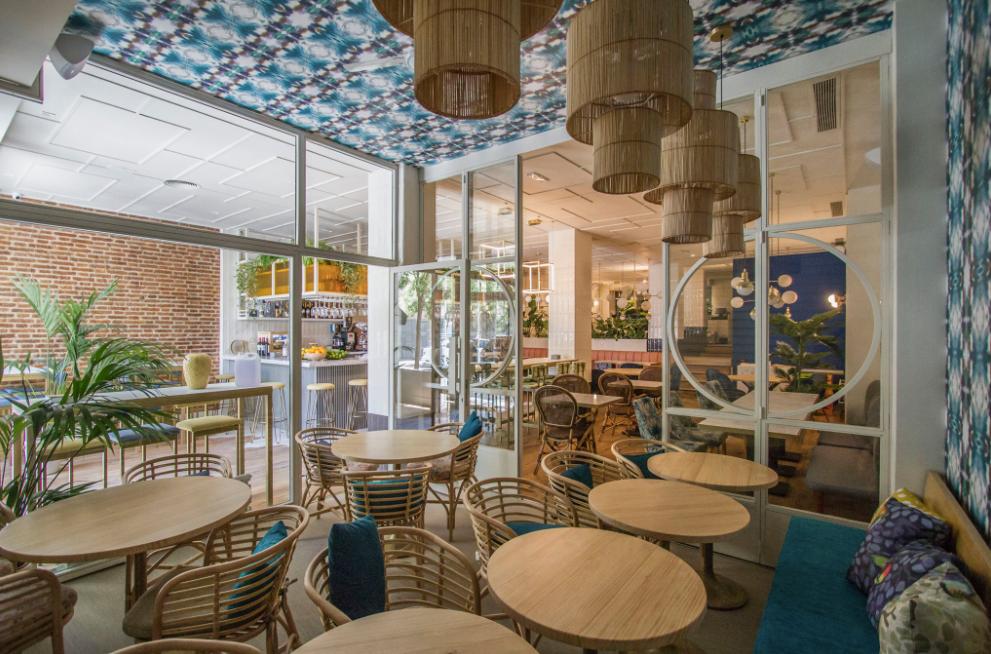 El cuidado interiorismo de Sargo lo convierte en un restaurante muy acogedor.
