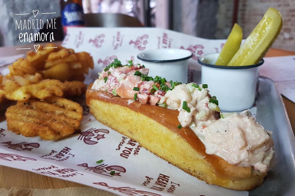 The Lobstar, restaurante recomendado en Madrid por www.madridmeenamora.com