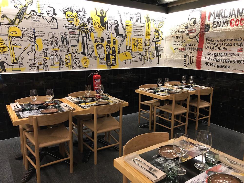 Cantina Roo, restaurante recomendado en Madrid por www.madridmeenamora.com