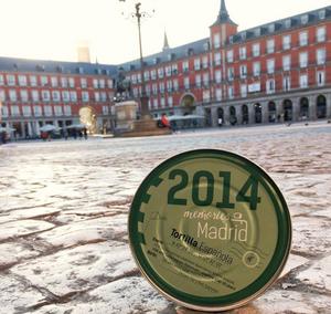 Memories of Madrid, tortilla de patata en lata. Regalo recomendado por www.madridmeenamora.com