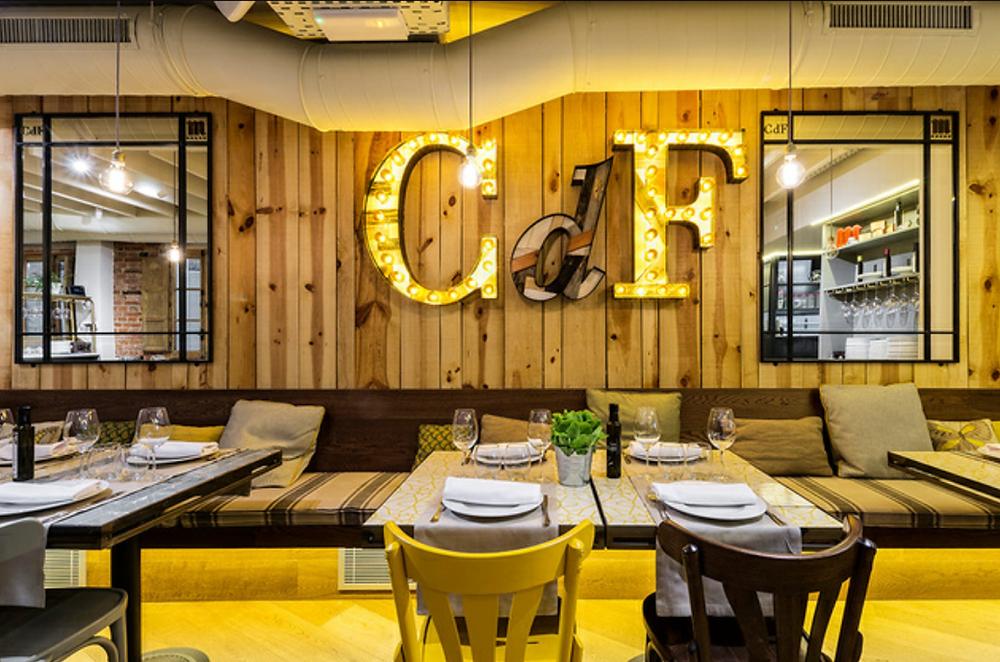 Restaurante recomendado en Madrid