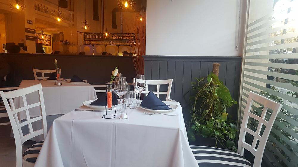 Taberna de Castellana, restaurante recomendado en Madrid por www.madridmeenamora.com