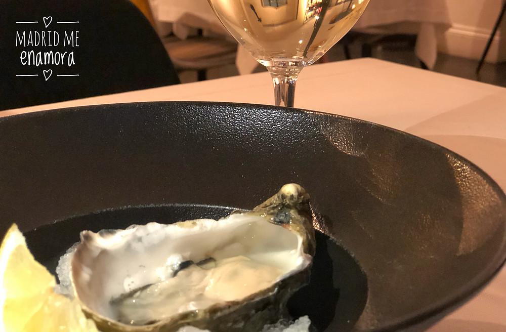 Comenzar con unas ostras en Kuc fue ¡todo un acierto!