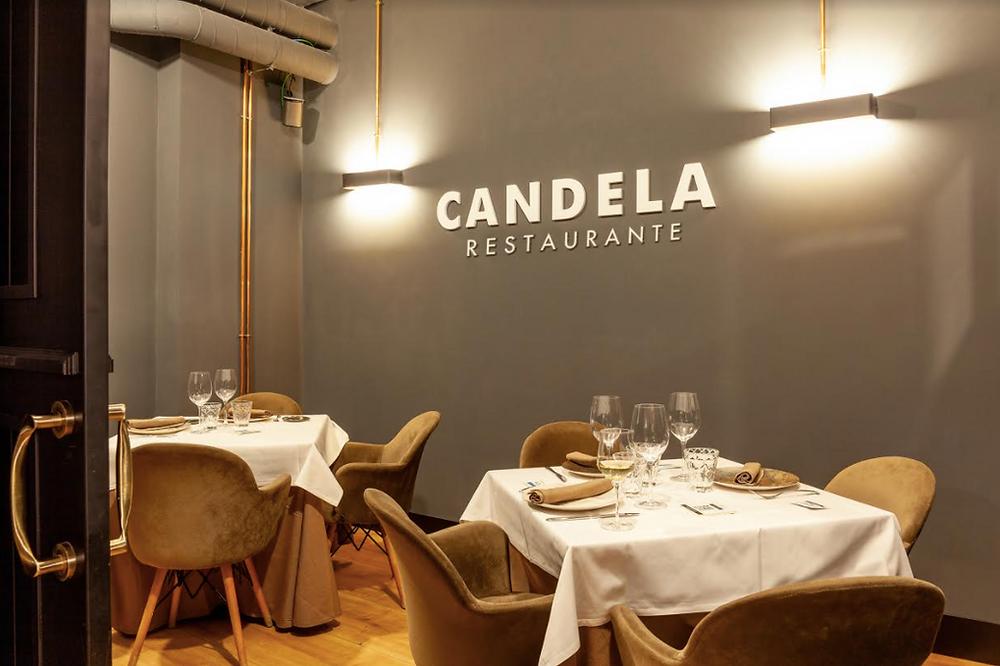 Comedor del restaurante Candela.
