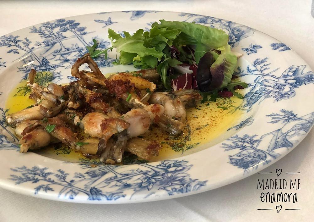 Normandie Ondarreta, restaurante recomendado en Madrid por www.madridmeenamora.com