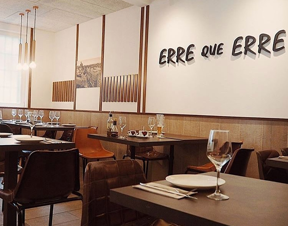 Erre que erre, restaurante recomendado en Madrid por www.madridmeenamora.com