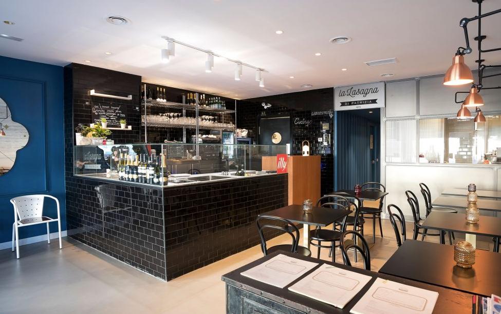 La lasagna di Patrizia, restaurante recomendado en Madrid por www.madridmeenamora.com