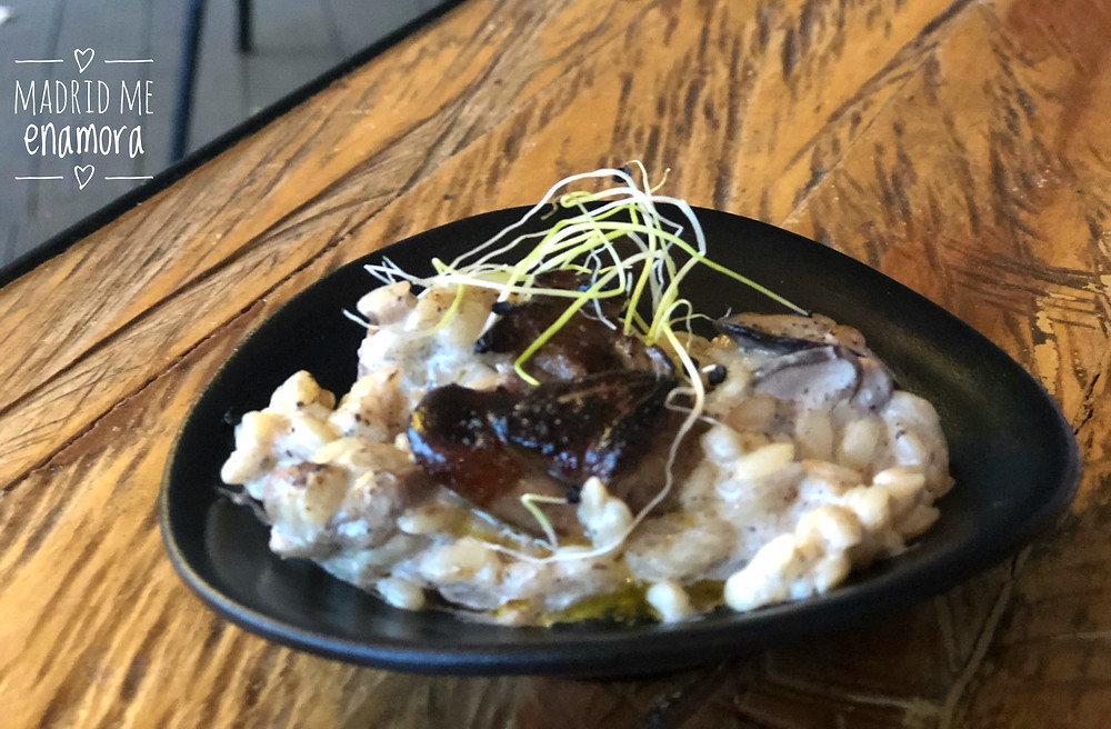 Babel Terraza, restaurante en Madrid recomendado en www.madridmeenamora.com