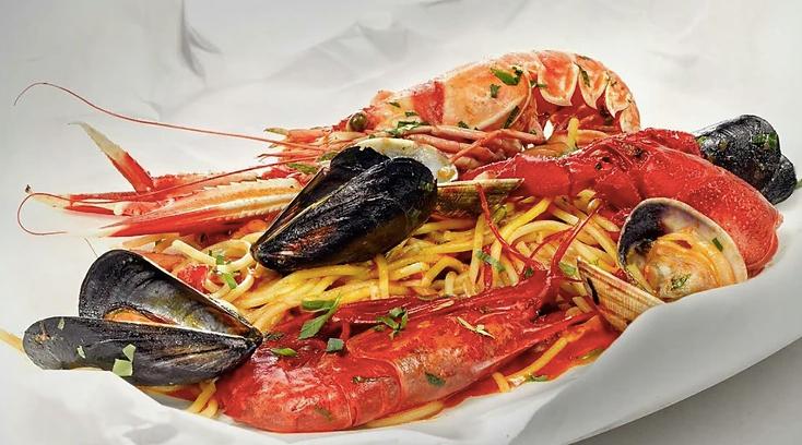 Puro colorido y sabor en los platos de Don Lisander.