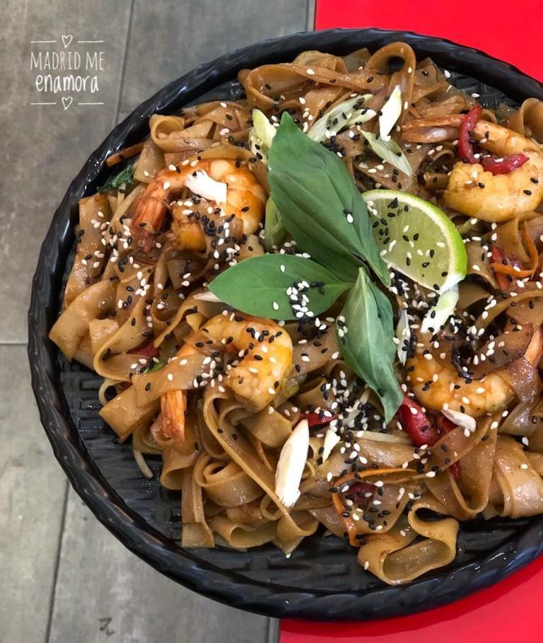 Los noodles son un plato muy popular en las calles del sudeste asiático.