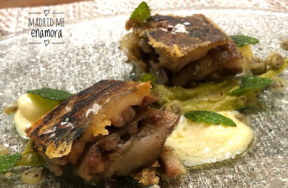 El Rabo de toro tierno y meloso de Aitatxu es un plato delicioso.
