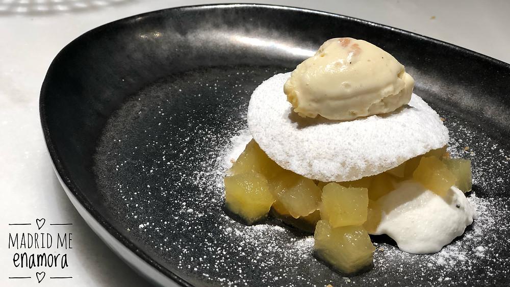 Efímero, restaurante recomendado en Madrid en www.madridmeenamora.com