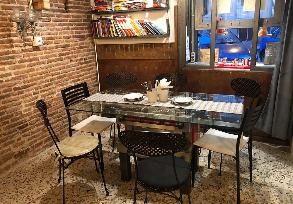 Dog&Fox Urban Kitchen, restaurante recomendado en Madrid por www.madridmeenamora.com