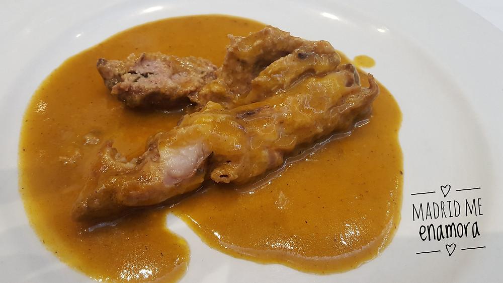 La Cocina de Maria Luisa, restaurante recomendado en Madrid por www.madridmeenamora.com