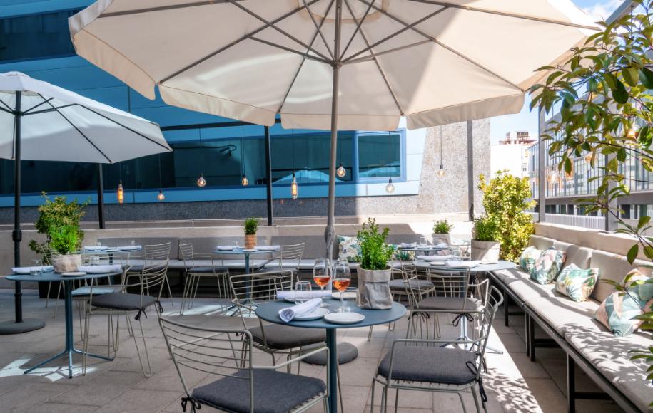 La terraza dell restaurante Popa nos enamora.
