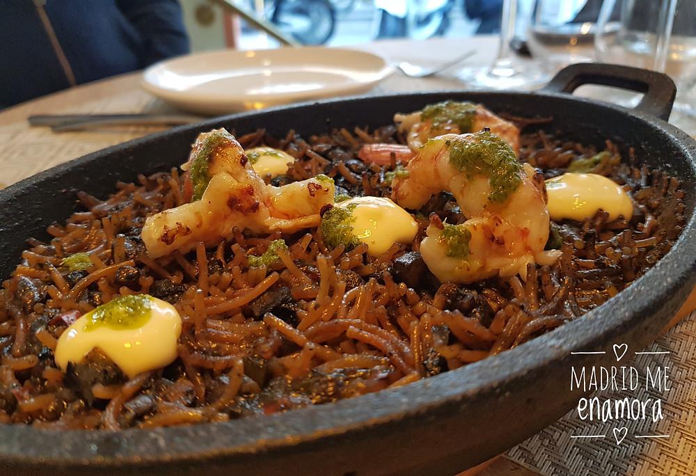 Plática, restaurante recomendado e Madrid por www.madridmeenamora.com
