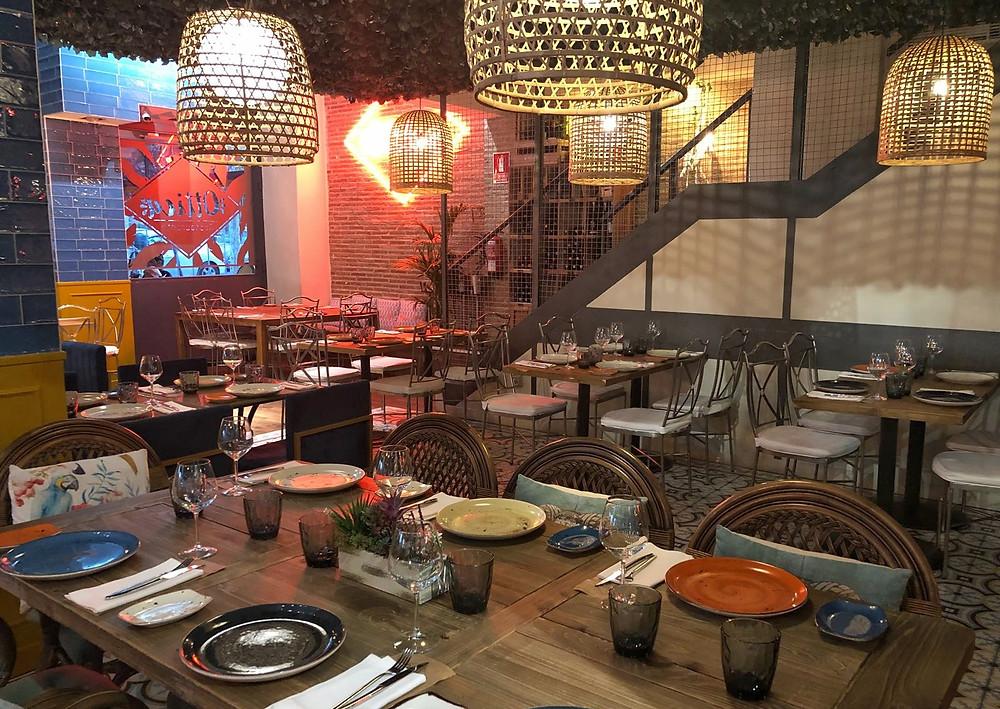 Ottica, restaurante recomendado en Madrid por www.madridmeenamora.com