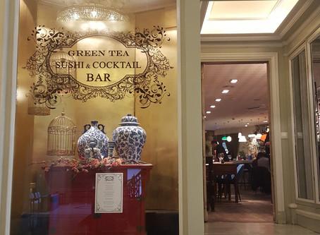 GREEN TEA SUSHI, EL GLAMOUR DE COMER 'JAPO' EN EL HOTEL PALACE