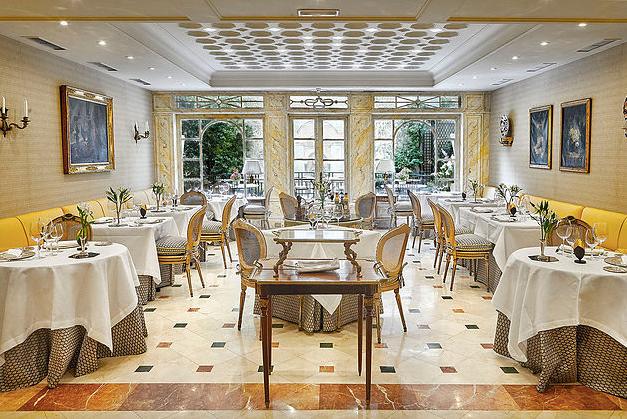 El jardín de Orfila, restaurante recomendado en Madrid por www.madridmeenamora.com
