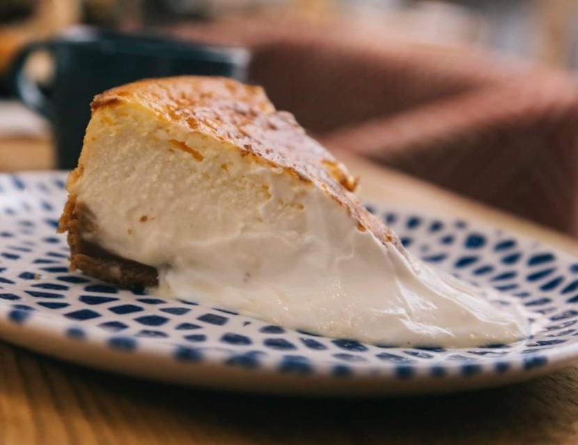 Tarta de queso de La Bientirada de Quevedo.