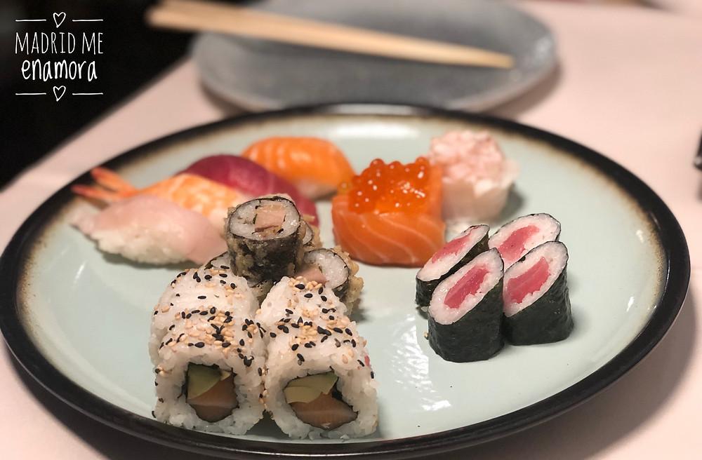 Ayala Japón, restaurante recomendado en Madrid por www.madridmeenamora.com