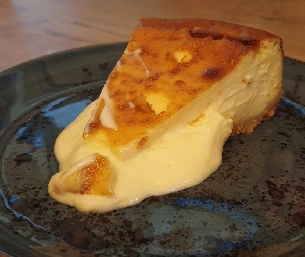 Tarta de queso de Quinqué.