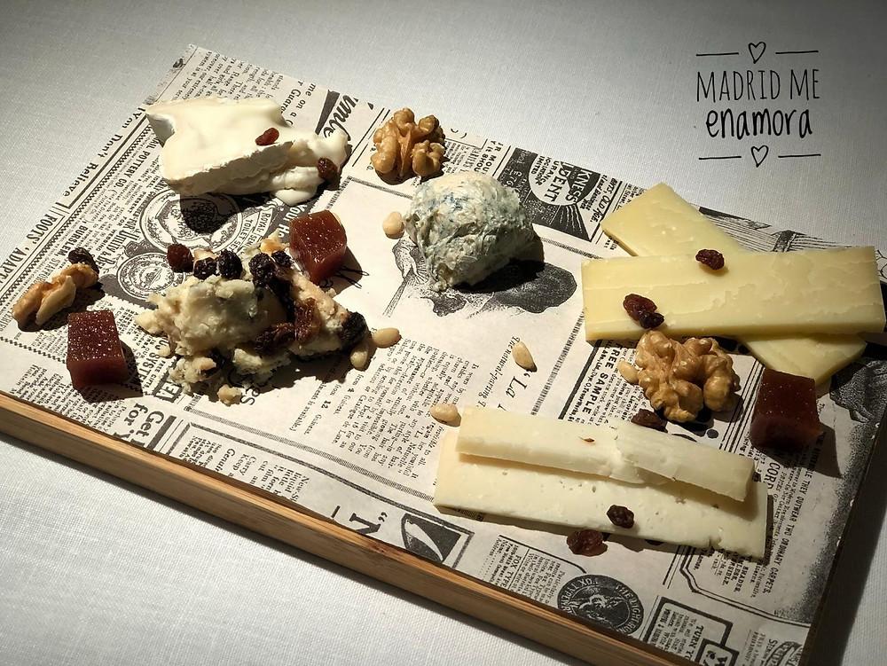 Enamorados de la tabla de quesos de NiMÚ Barquilo.