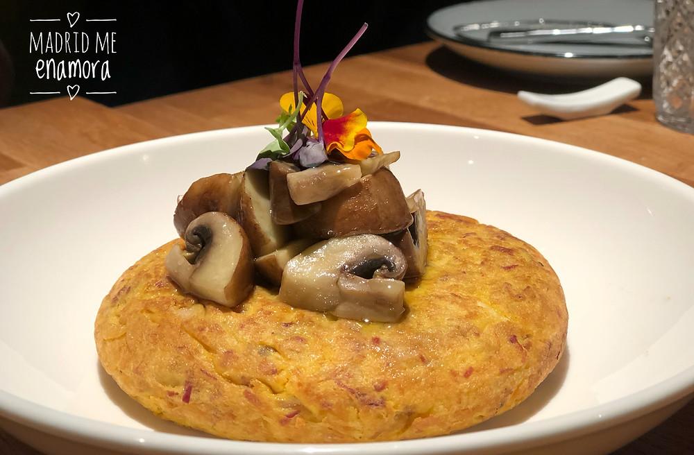 Taberna y media, restaurante recomendado en Madrid en www.madridmeenamora.com