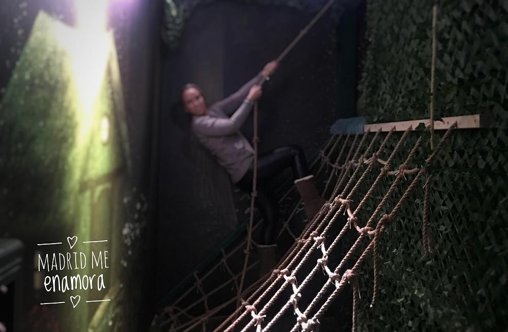 Lostroom escape room, plan recomendado por www.madridmeenamora.com