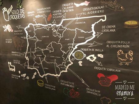 RECORREMOS ESPAÑA SIN SALIR DE MADRID EN SOLO DE CROQUETAS
