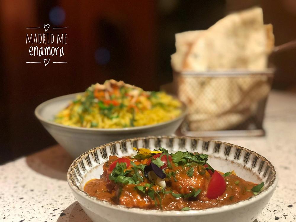 El Chicken Balti es un plato lleno de sabor y matices.
