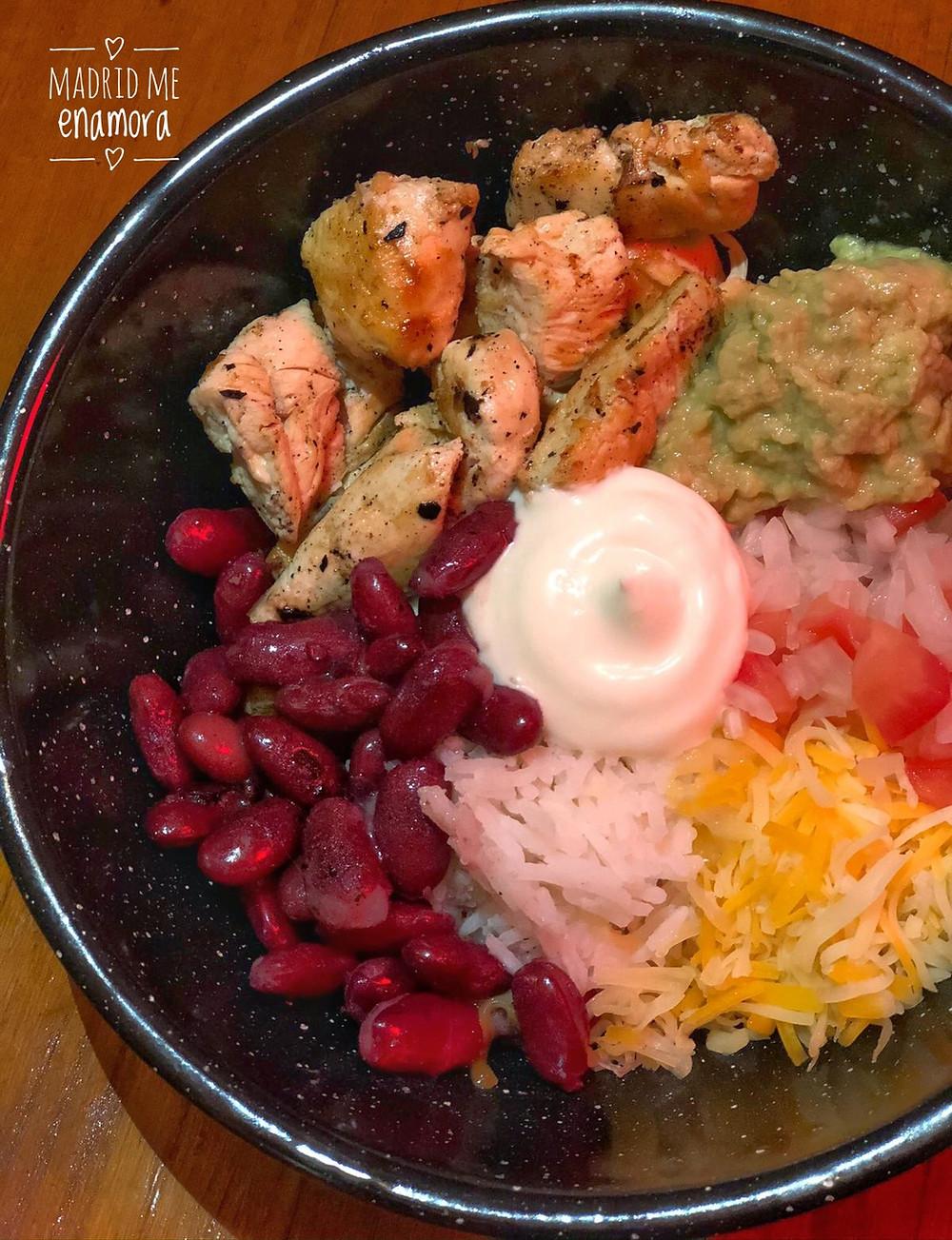 El Mole Bowl es un plato ideal para compartir.