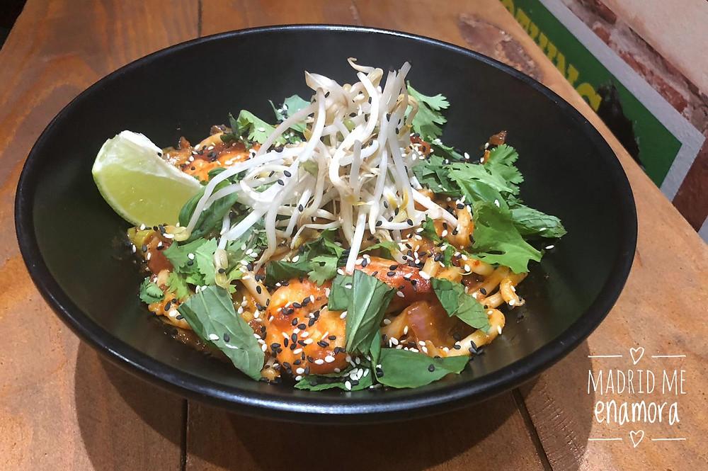 Tuk Tuk Asian Street Food, restaurante recomendado en Madrid por www.madridmeenamora.com