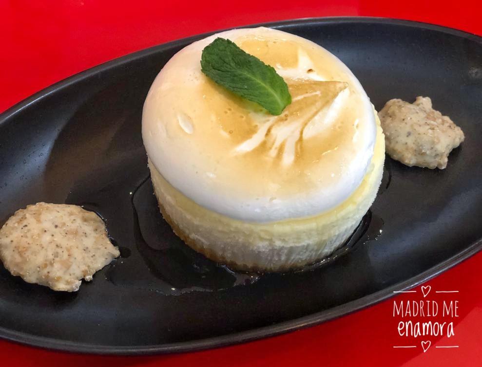 La Pasabog cheesecake, es una tarta de queso que preparan en Filipinas.