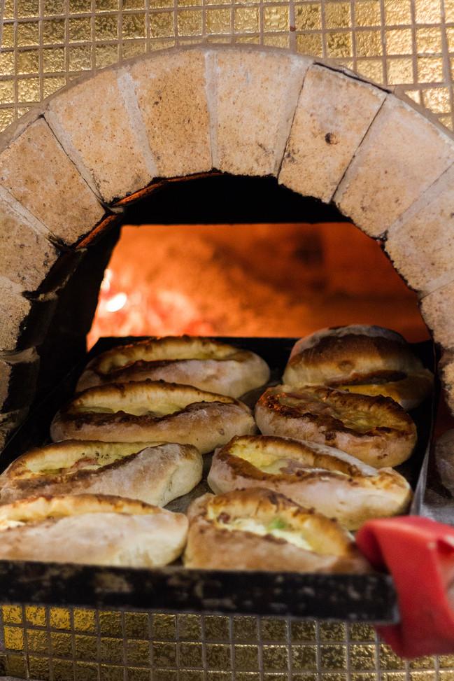 Zimis Lefkada wood fired pizza oven