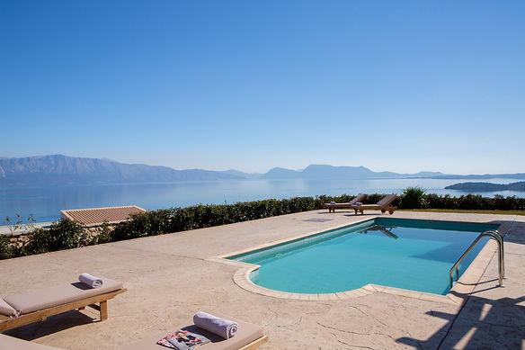 villa ventalia lefkada pool panoramic vi