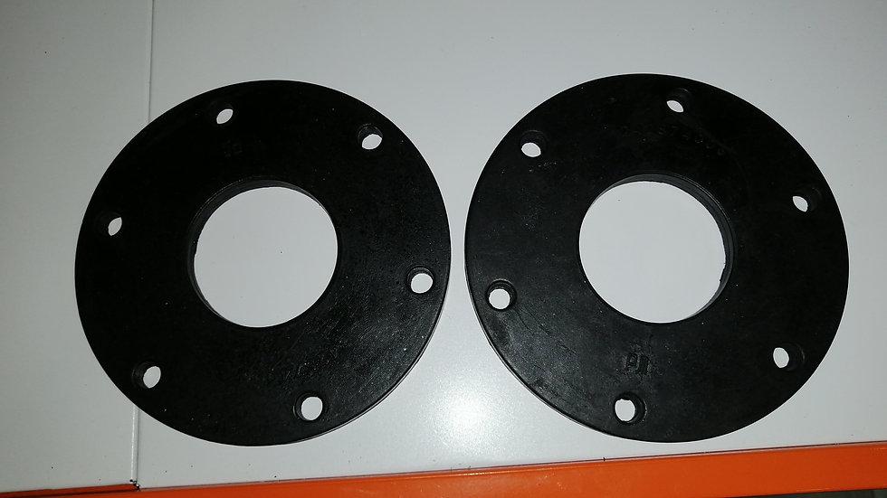 Резиновый диск на фланец