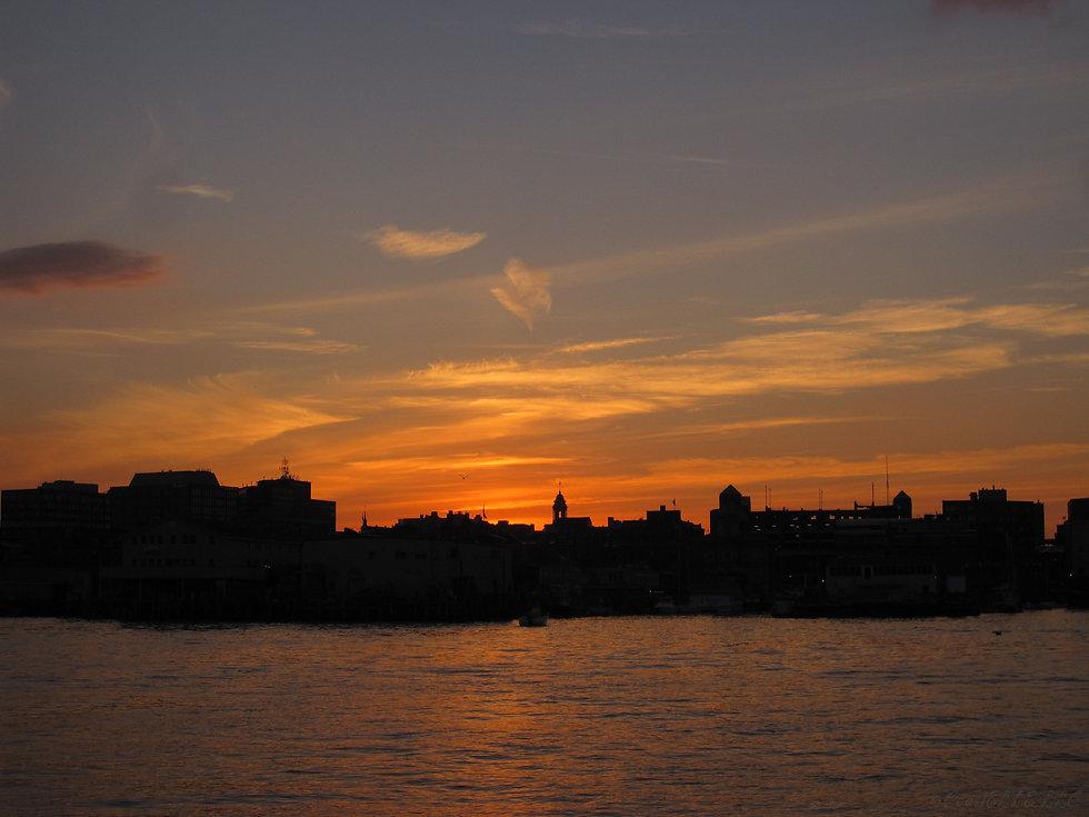 Portland Harbor at Sunset ©CoastELLE LLC