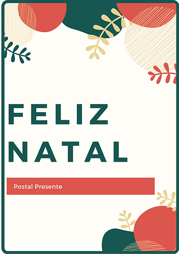Postal Presente de Natal 50,00 €