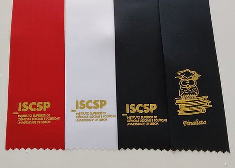 ISCSP Fita Timbrada a Ouro