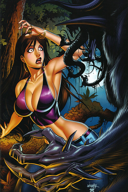 """OMG! A Horror Anthology"" Issue #1 Virgin Cover Book"