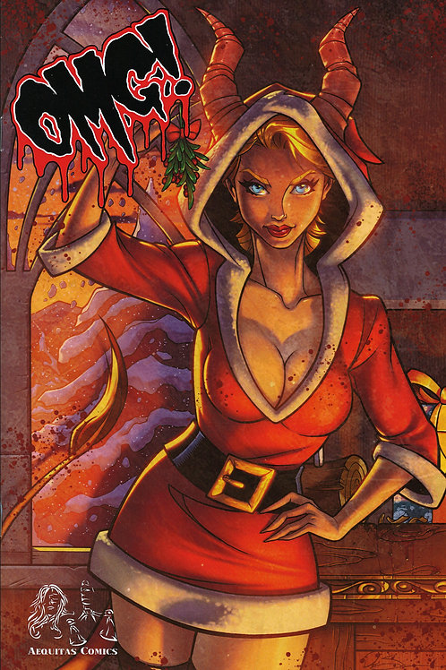 """""""OMG! A Horror Anthology"""" Issue #2 Trade Cover Book"""