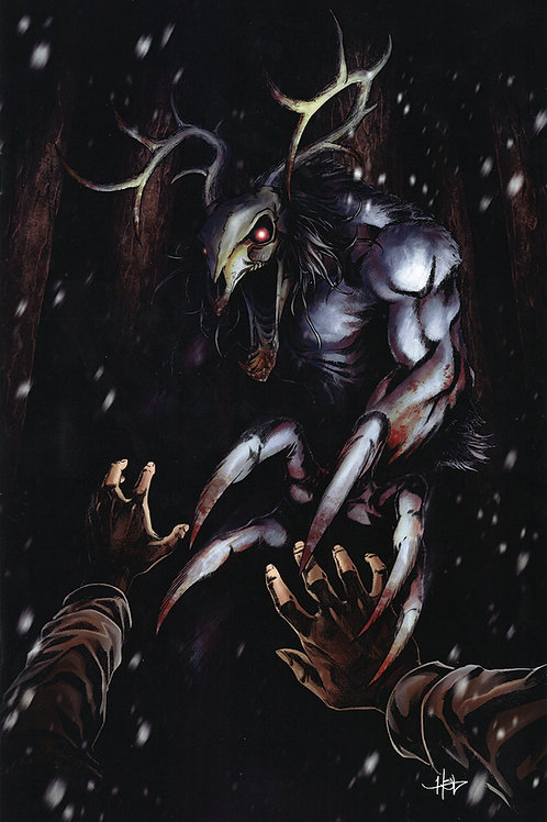 """""""OMG! A Horror Anthology"""" Issue #2 Virgin Cover Book"""