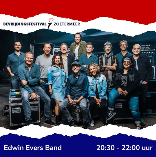 Bevrijdingsfestival Edwin Evers Band Ins